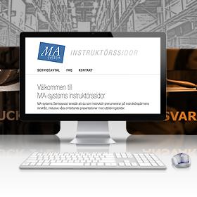MA-system Utbildnings Instruktörssidor är nu lanserade