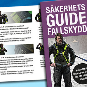 Praktisk säkerhetsguide för fallskydd!