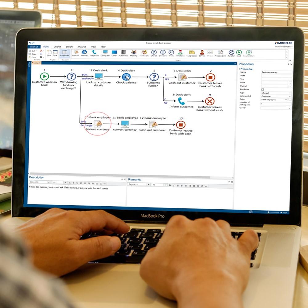 Digital processkartläggning med Engage Process Modeler