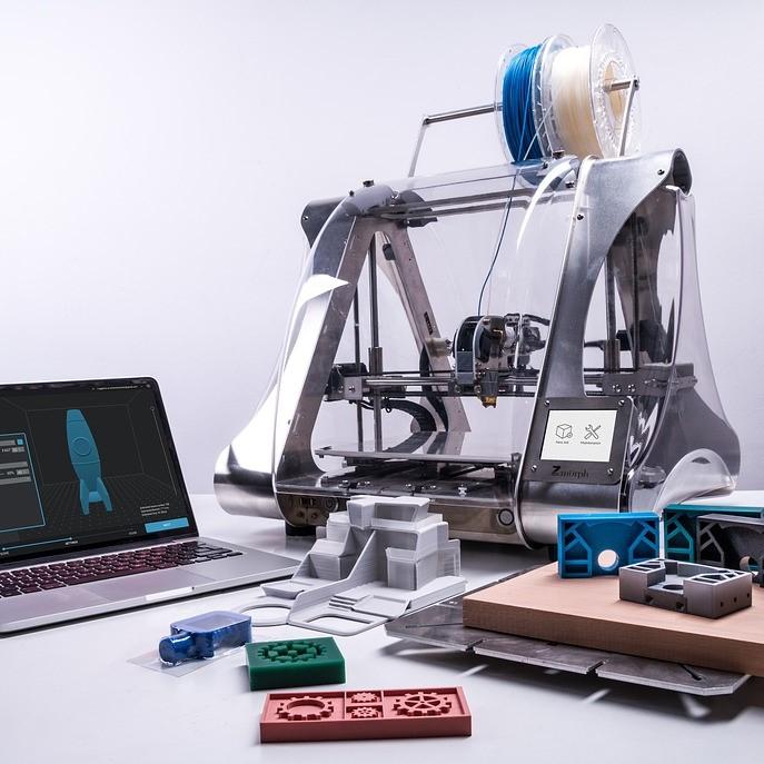 3D-skrivare på lagret?