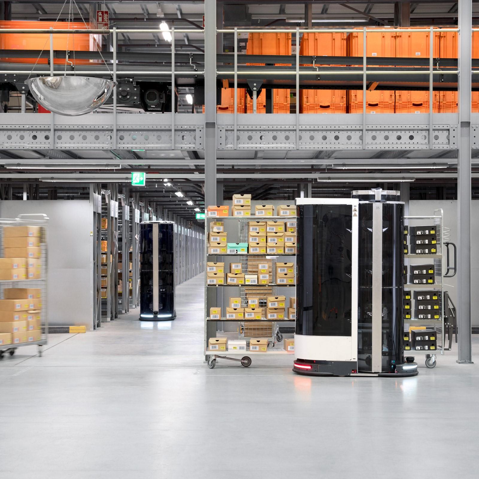 Plockrobotar testas av Zalando