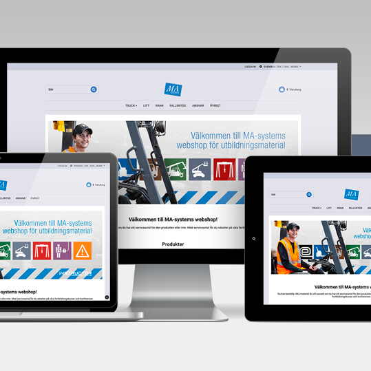 MA-system Utbildning lanserar en ny webshop!